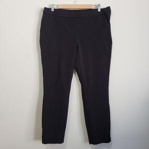 1901 classic black side zip trousers 14